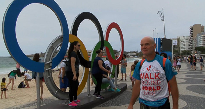 Пешком через два континента: как россиянин добрался до Рио за 469 дней