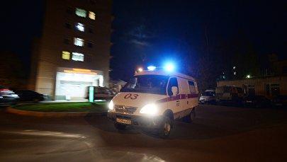Работа бригады скорой помощи