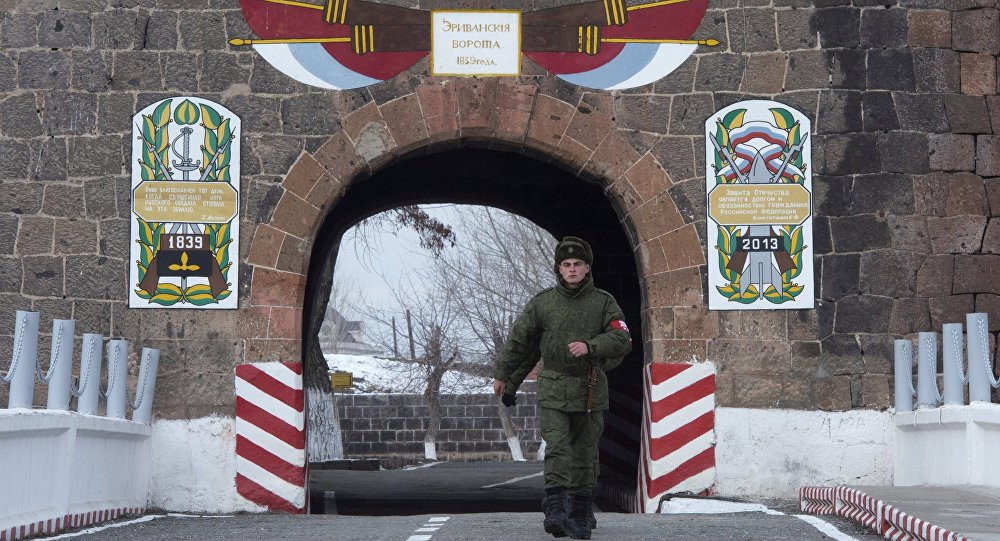 102-я российская военная база в Армении