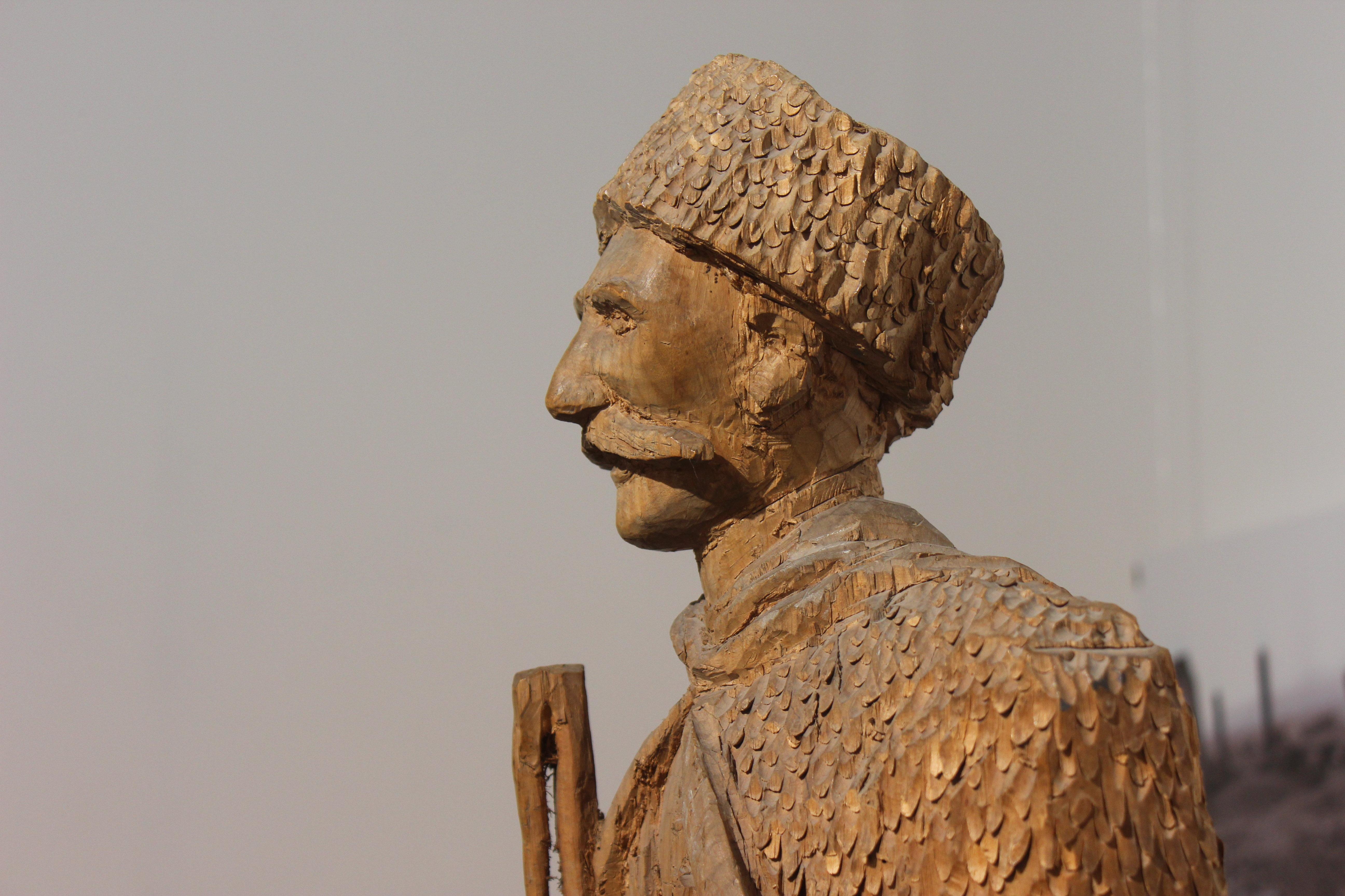 Скульптура Сосланбека Едзиева