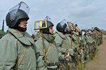 Военнослужащие инженерно-саперных подразделений 58-й общевойсковой армии.
