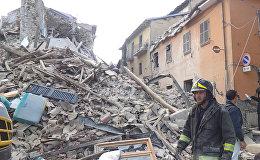 Землетрясение в Италии: разрушения и работа спасателей в Аматриче
