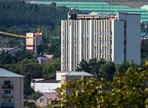 Здание правительства обсуждение строительства Цхинвал