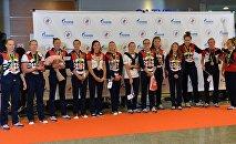 Встреча золотого рейса с чемпионами и призерами XXXI Олимпийских игр