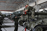 Российская военная база в Цхинвале