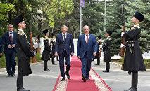 Делегация Северной Осетии на празднования признания независимости РЮО