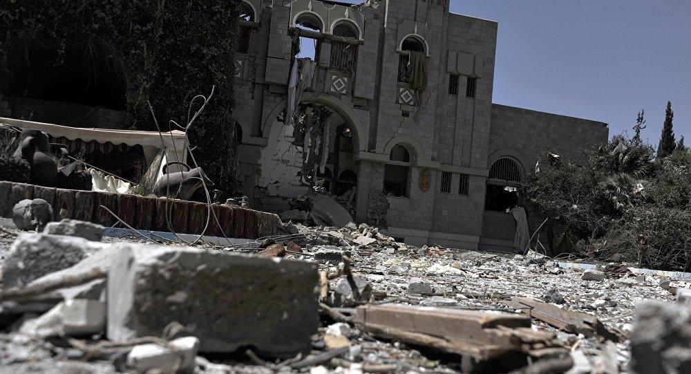 Авиация коалиции арабских стран нанесла авиаудары по резиденции экс-президента Йемена Али Абдаллы Салеха
