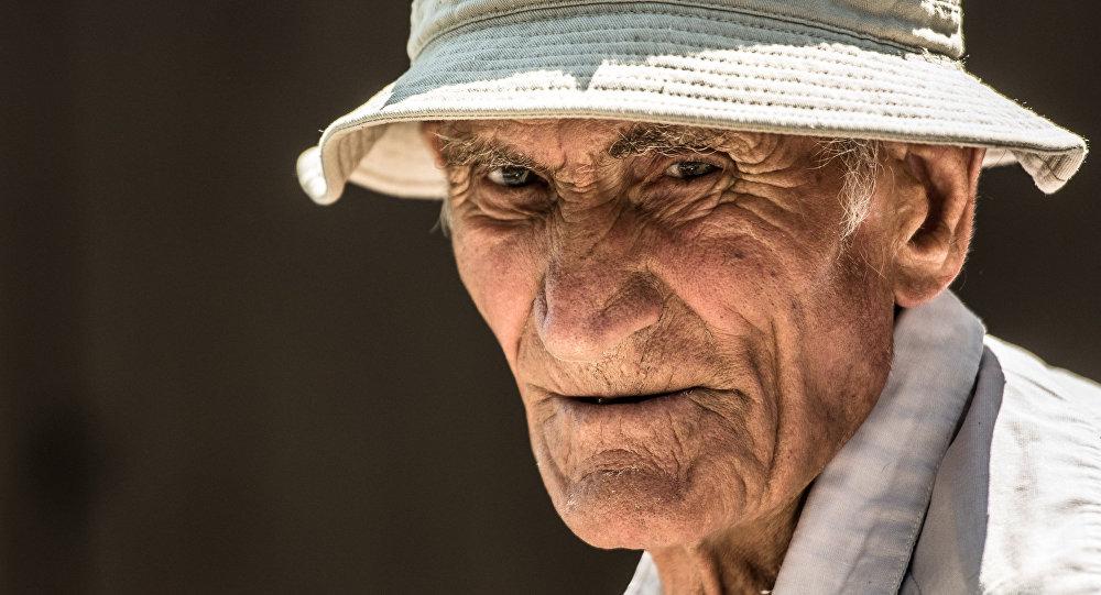 Житель села Прис Леван Туаев