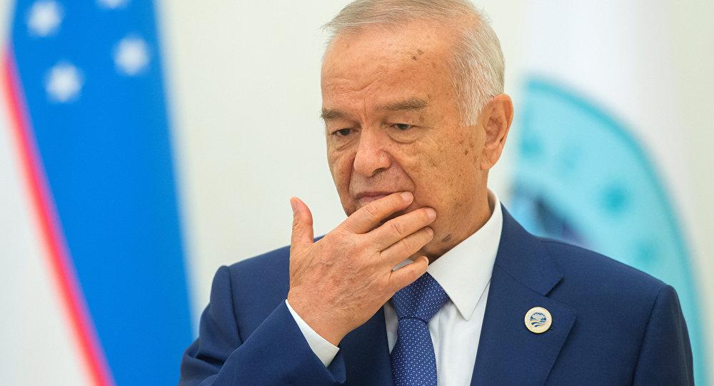 Президент Узбекистана Ислам Каримов, архивное фото.