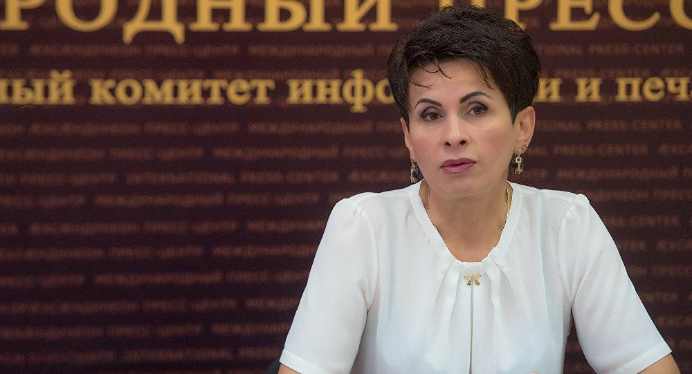 Главный санитарный врач Южной Осетии Марина Кочиева