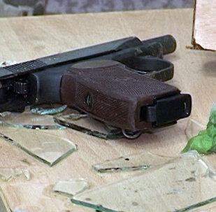 Изъятое полицией оружие