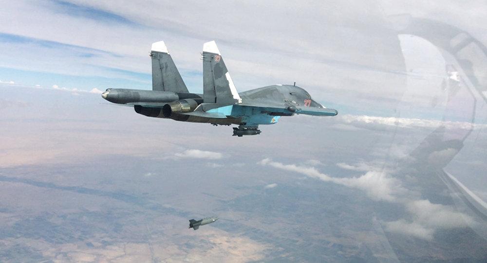 Русские бомбардировщики нанесли массивный удар попозициям ИГИЛ вСирии