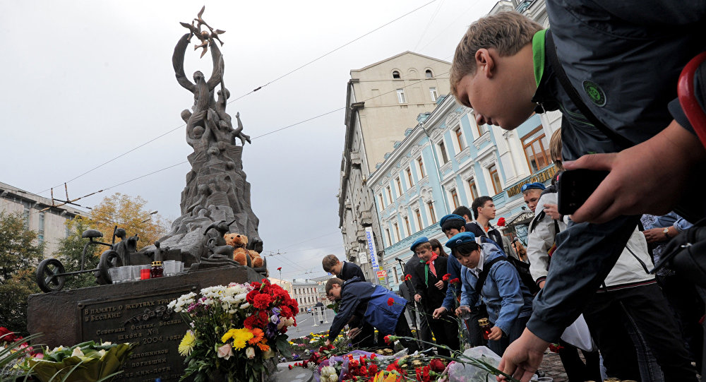 В столице России осетины словили осквернившего монумент жертвам Беслана