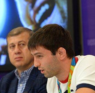 Олимпийский чемпион Рио-2016 по вольной борьбе Сослан Рамонов