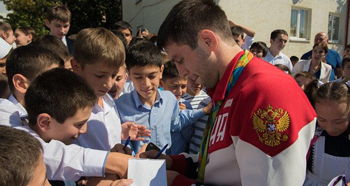 Награждение Рамонов Южная Осетия