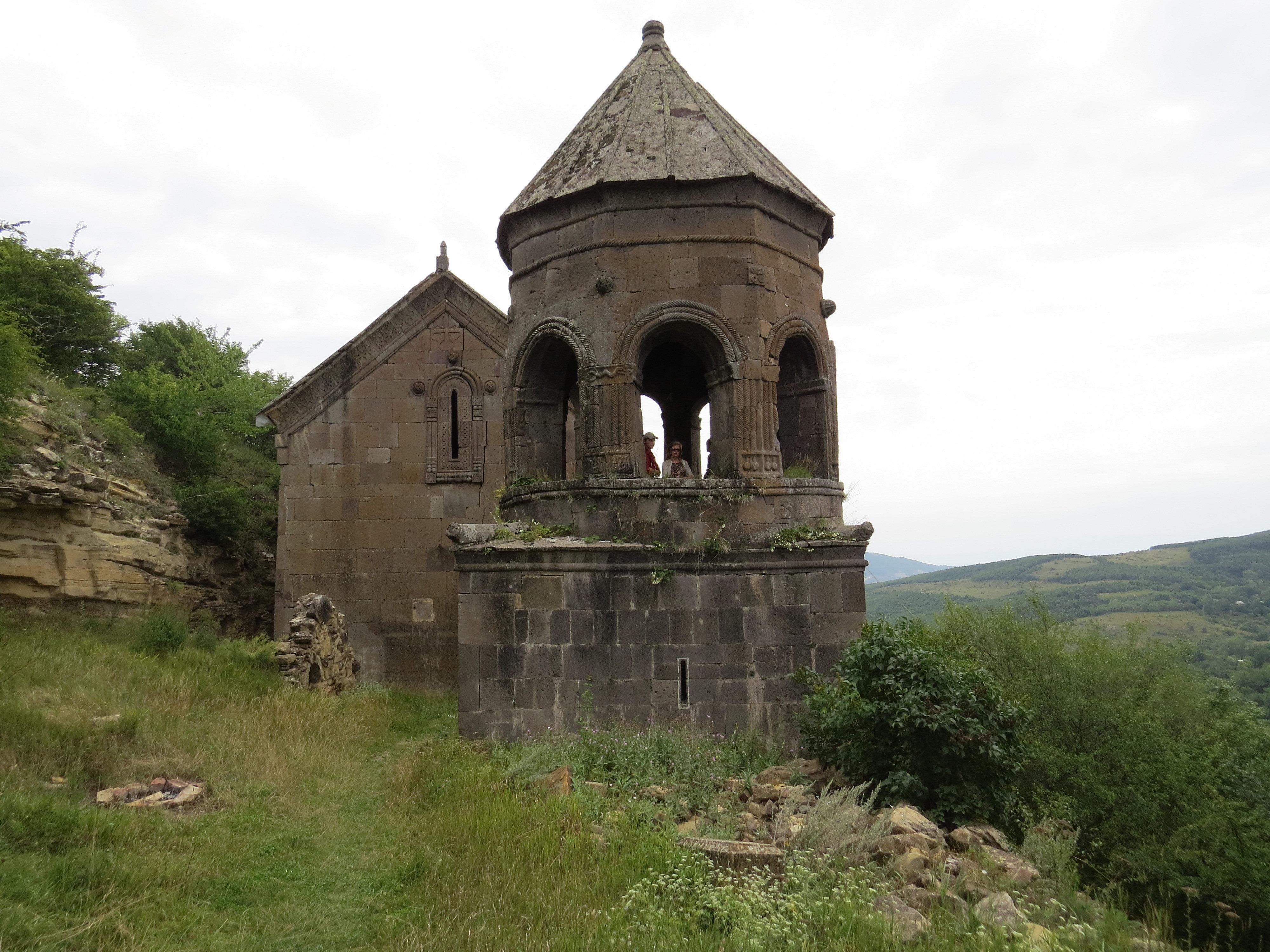 Тирский монастырь в Южной Осетии