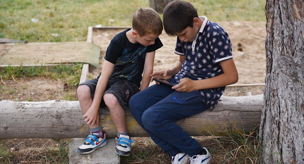 Детский лагерь Солнышко в Цхинвале