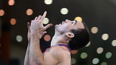 Осетинский спортсмен Чермен Кобесов на а Паралимпиаде в Подмосковье