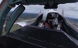Видео 360: полет в кабине МиГ-29 в составе легендарных «Стрижей»