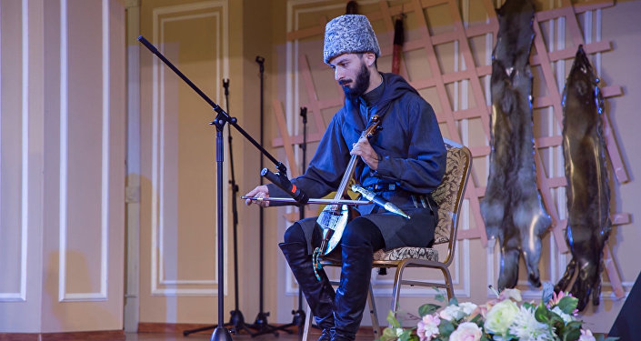 Таму Берозты представлял Южную Осетию на фестивале в Казахстане