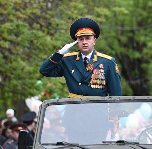 Министр обороны Южной Осетии Ибрагим Гассеев