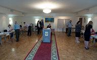 Голосование в Южной Осетии на выборах в Госдуму