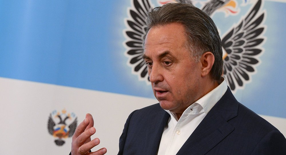 Пресс-конференция министра спорта РФ Виталия Мутко