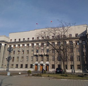 Здание правительства Республики Северная Осетия - Алания