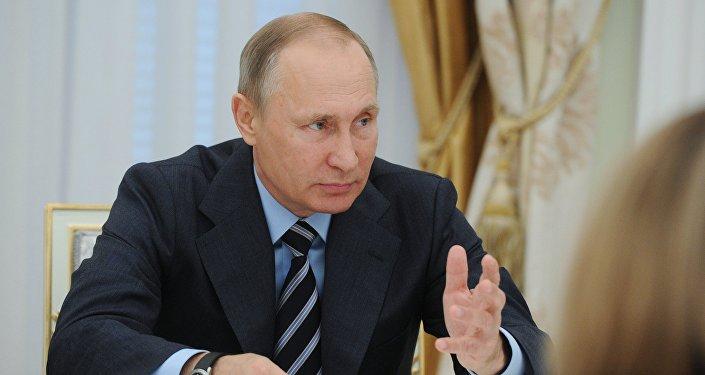Президент РФ В. Путин провел ряд встреч по итогам прошедших выборов