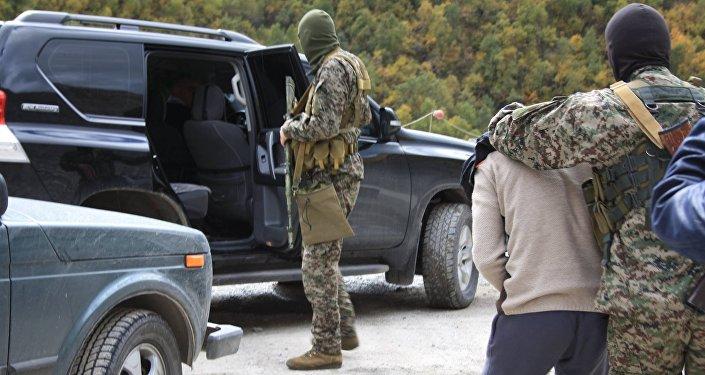 Задержание гражданина Таджикистана