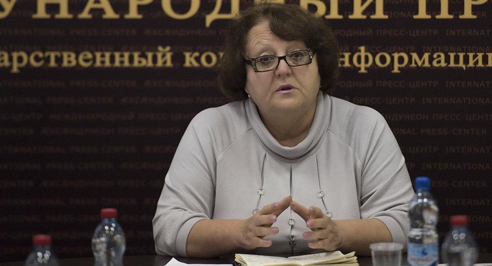 Министр культуры Южной Осетии Мадина Остаева