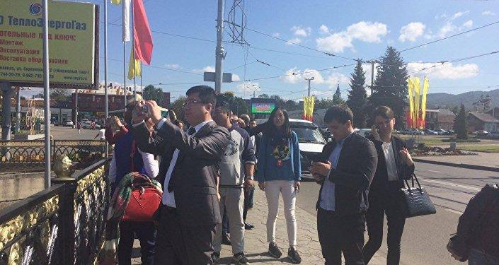 Китайские туроператоры в Северной Осетии