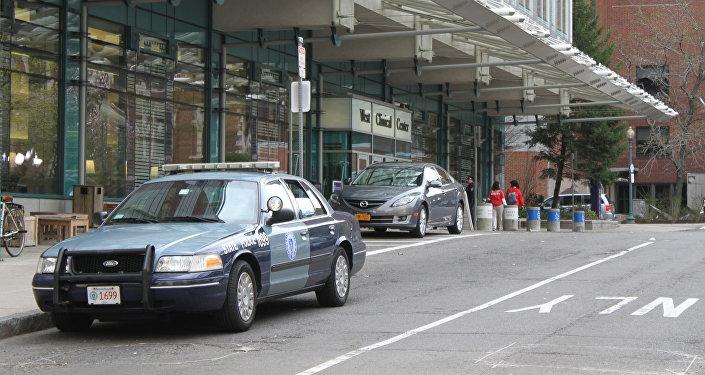 Полиция в Бостоне