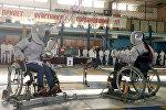 Фехтовальщики паралимпийцы