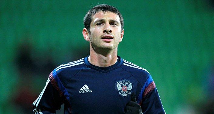 Игрок России Алан Дзагоев