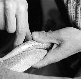 Комбинат художественных изделий в селе Гоцатли