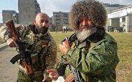 Дзиба в составе батальона Восток на Донбасе