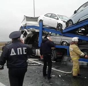 Цӕгат Ирыстоны трассӕйыл авари