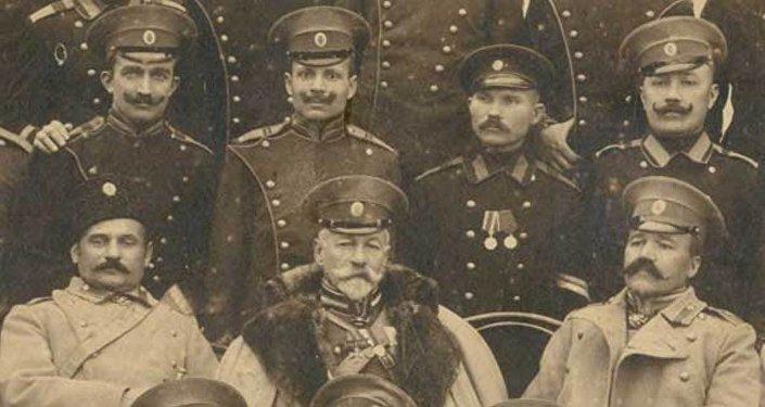Офицерский коллектив пограничной стражи.