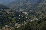 Кударское ущелье в Южной Осетии