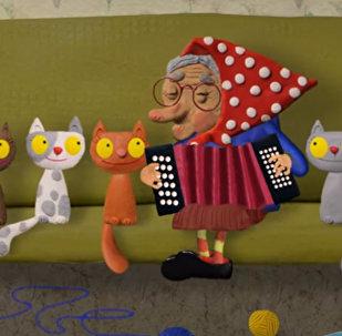 Мультфильм Семь кошек