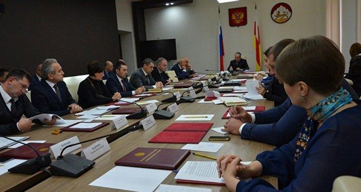 Заседание правительства Северной Осетии