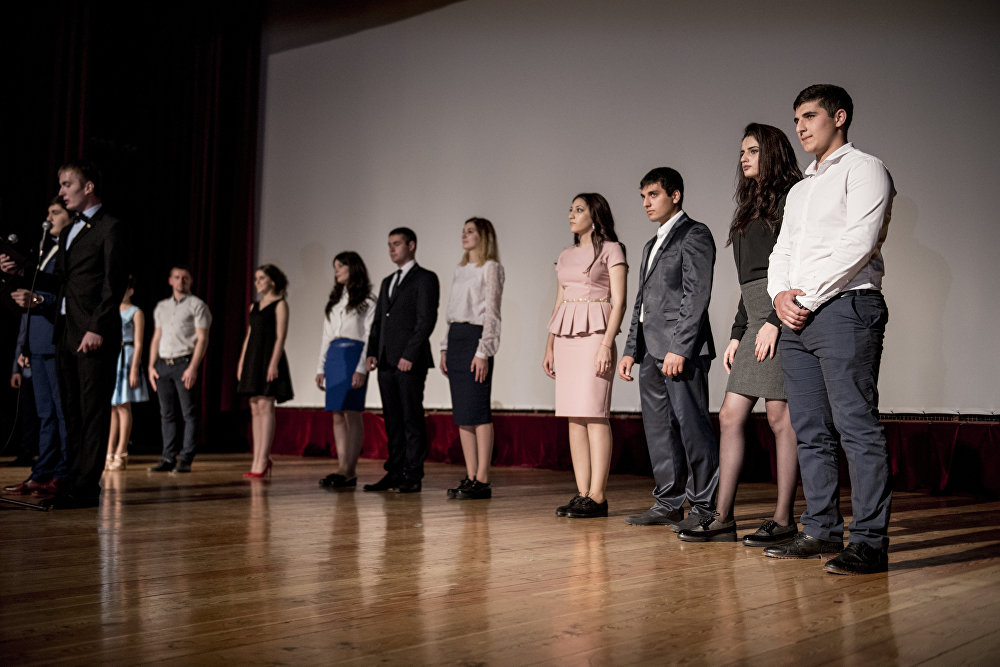 ХИПУ студенттӕм бахизыны церемони - 2016