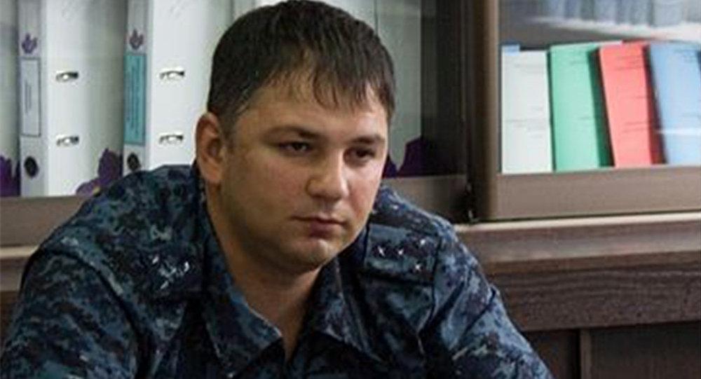 Милицийы майор Коцты Дмитрий