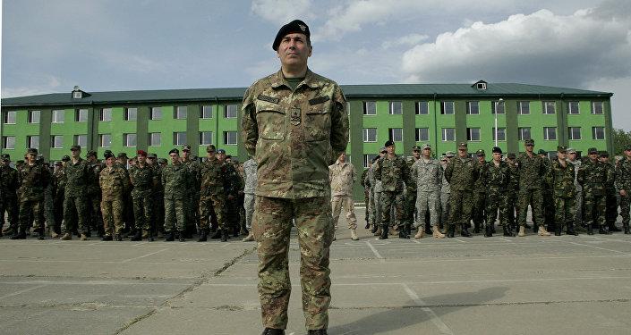 Официальное открытие учений НАТО в Грузии
