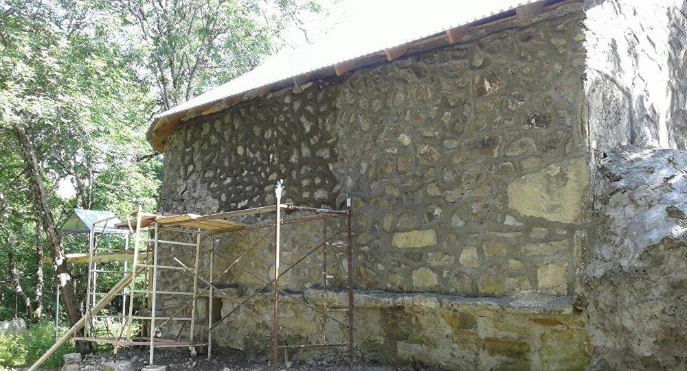 Церковь в Гомарт. Знаурский район