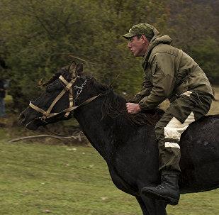 Скачки в Южной Осетии
