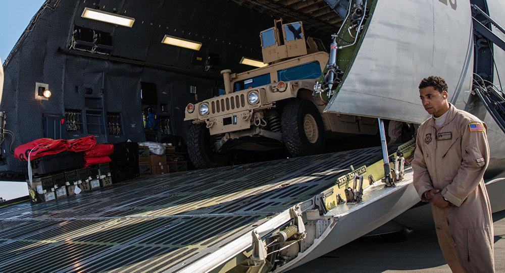 Самолет Военно-воздушных сил США