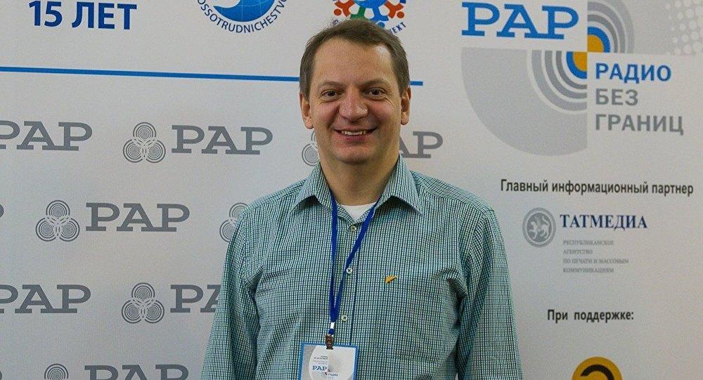 Руководитель радиовещания Sputnik на русском Алексей Орлов