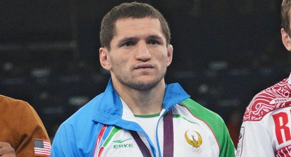Борец Сослан Тигиев
